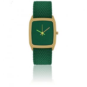 Perfecto Cuir Vert Bracelet Vert