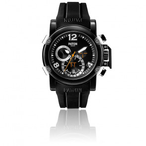 Chrono Dark Black Rubber