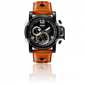 Chrono Dark Brown Leather