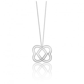 Collier Small Heart Argent