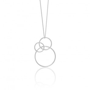 Collier Small Dune Argent
