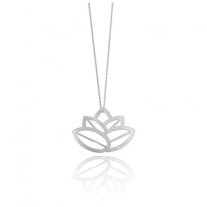 Collier Small Zen Argent