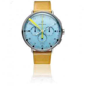 Monoposto Chronograph Azzurro Dial