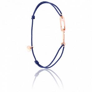 Bracelet Osmose Vermeil Rose Cordon Bleu