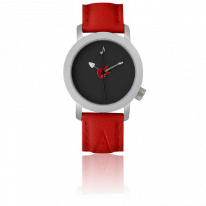 Art Guitare Rouge 34 mm