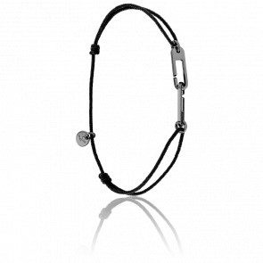 Bracelet Osmose Black Cordon Noir