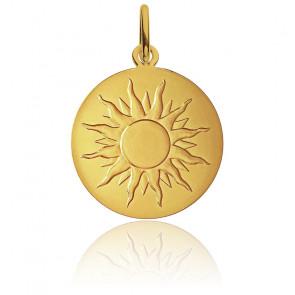 Médaille Je Brillerai Comme Un Soleil Or Jaune 18K