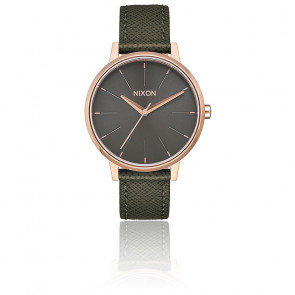 Kensington Leather Rose Gold / Green A108-2283