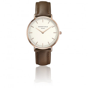 The Bowery White Brown Rose Gold BWBRR-B3