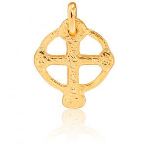 Croix Celtique Or Jaune 18K