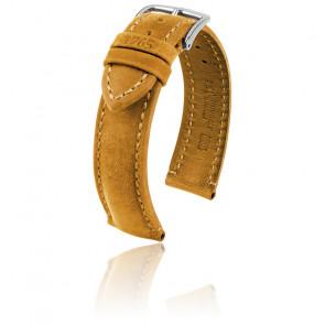 Bracelet Heritage Miel / Silver - Entrecorne 20 mm