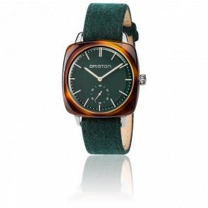 Clubmaster Vintage Acétate HMS bracelet Flanelle vert