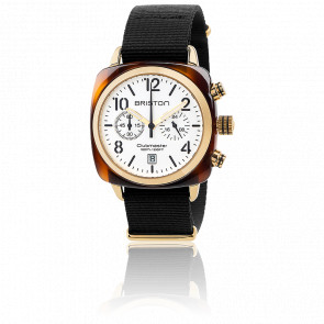 Clubmaster Chrono HSMD Acétate lunette or jaune