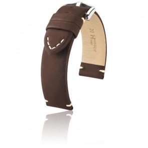 Bracelet Ranger Brun / Silver- Entrecorne 22 mm