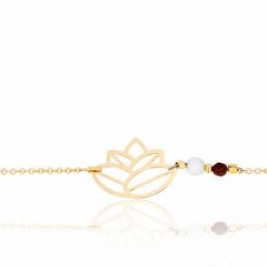 Bracelet Zen Perles & Plaqué Or