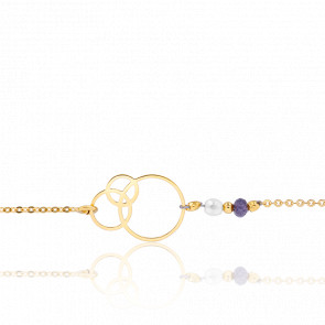 Bracelet Dune Perles & Plaqué Or