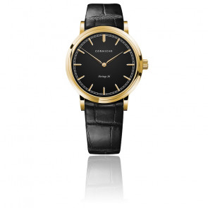 Heritage 36 Yellow Gold / Black Dial