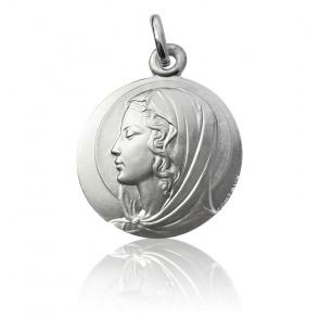 Médaille Vierge Contaux Argent