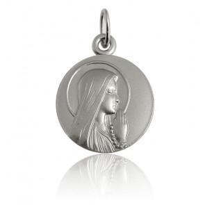 Médaille Ave Maria Auréole Argent