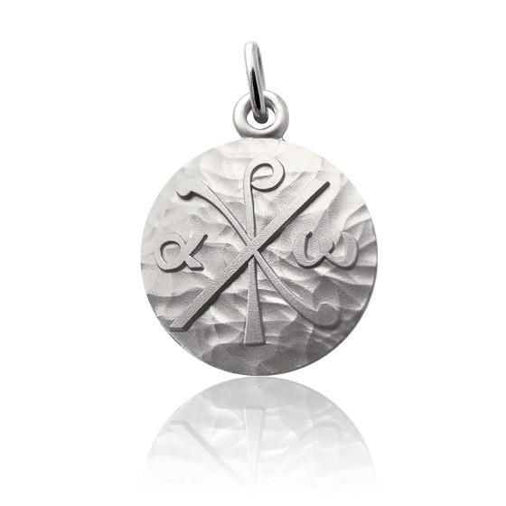 Médaille Chrisme Argent
