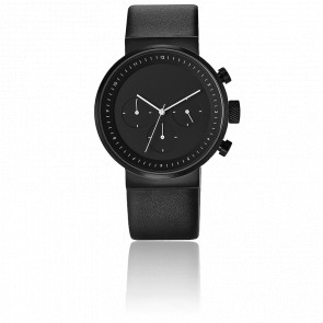 Kiura Black Chronograph
