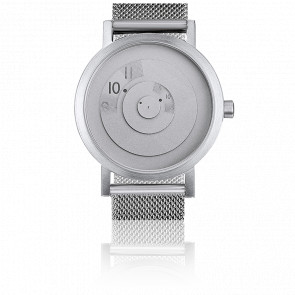 Steel Reveal Watch Sleek and Modern