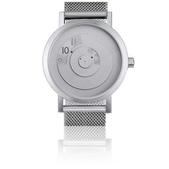 Steel Reveal Watch Sleek and Modern