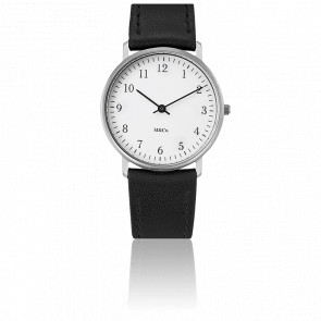 Bodoni M&Co Classic Stainless Watch 33mm