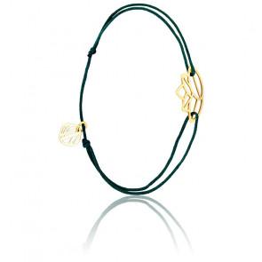 Bracelet Zen Cordon Bleu Canard & Plaqué Or