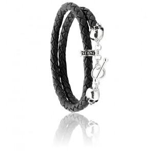 Bracelet Bellamy Cuir & Argent