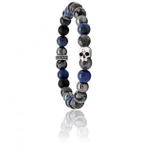 Bracelet K.I.S.S. Candy Abysse Onyx & Argent