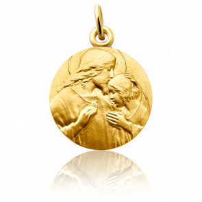 Médaille Communion Or Jaune 18K