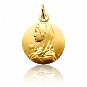 Médaille Ave Maria Or Jaune 18K