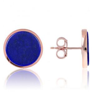 Puces d'Oreilles Alba Lapis Lazuli