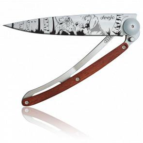Couteau Tattoo Jour de chasse 1CB037