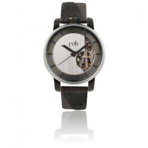 Montre Rehab 360 S Black Semi-Solid Silver