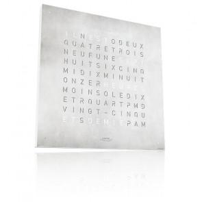 Qlocktwo Classic Creator's Edition Platinium