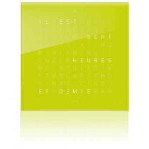Façade sans horloge Qlocktwo Qolor Touch : Lime Juice
