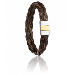 Bracelet Lipizzan Crin de cheval 12 mm - Albanu