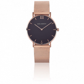 Sailor Line Rose Gold Blue Lagoon Maille Milanaise Rose Gold