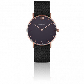 Sailor Line Rose Gold Blue Lagoon Perlon Noir