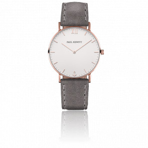 Sailor Line Rose Gold White Sand Cuir Gris