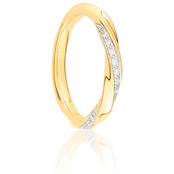 Alliance Pissarro deux Ors et Diamants