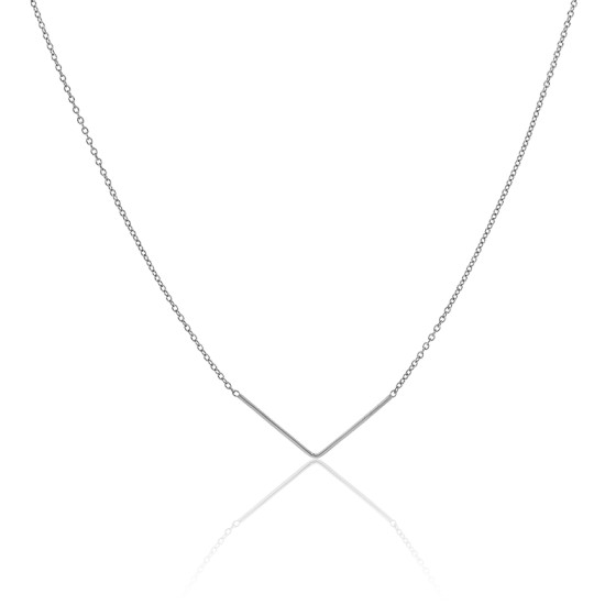Collier Unity Triangle Argent