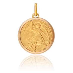 Médaille Saint Michel Or Jaune