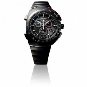 Chronographe Astron GPS Solaire Giugiaro Design SSE121