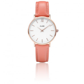 Minuit Rose Gold White / Flamingo CL30045
