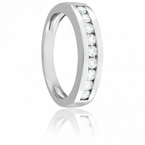 Bague Olivia Diamants 0,37 ct & Or Blanc 18K