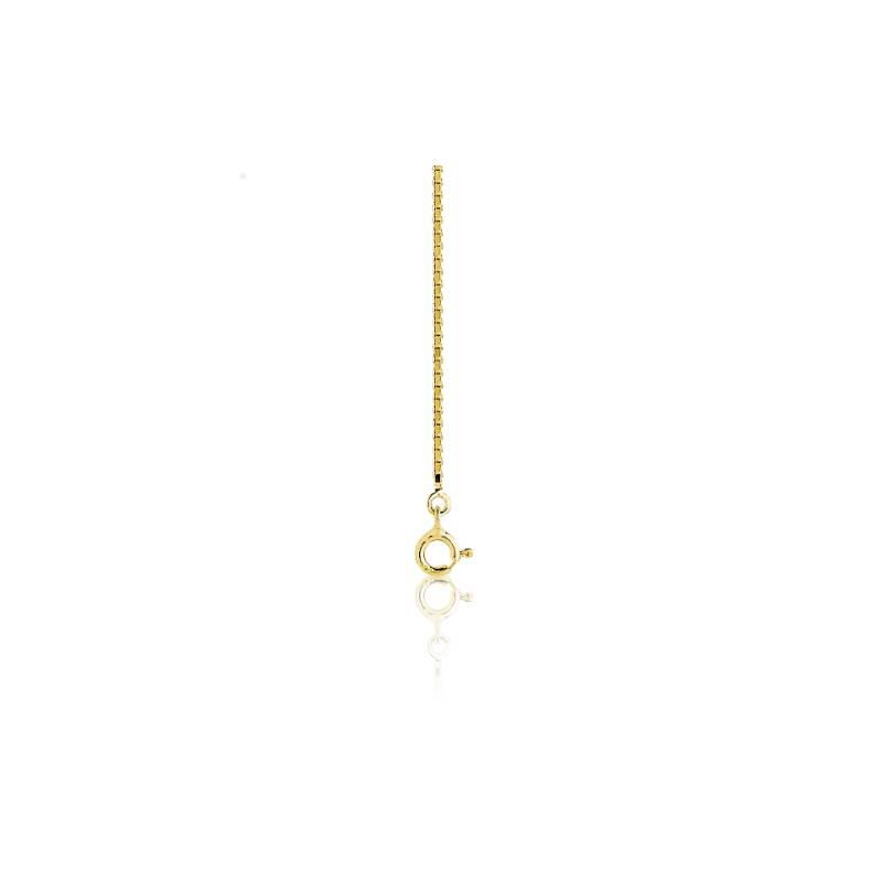 Chaîne Vénitienne, Or Jaune 18K, longueur 45 cm