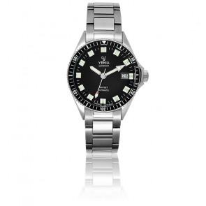 Superman Automatique Black Bracelet Acier YMHF1550A-AM
